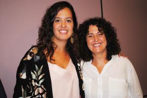 Guadalupe Molinari y Azucena García-Palacios